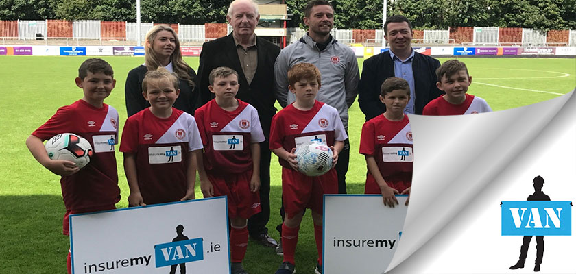 Insuremyvan partner St Patricks Athletic FC