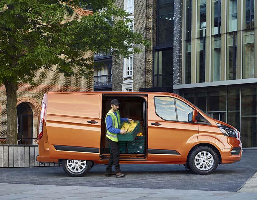 The new 181 Ford Transit Custom | Van Insurance | InsureMyVan ie